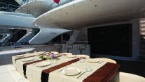 Paris A -  Aft Deck Dining