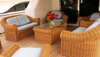 Pas Encore -  Aft Deck Seating