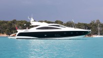 Phantom Sunseeker Luxury Yacht External View