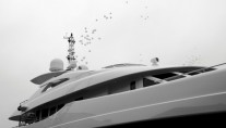 Photo of Superyacht Satori being Launched by Heesen - Photo credit Dick Holthuis