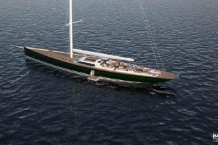 Pink Gin VI Yacht - upview