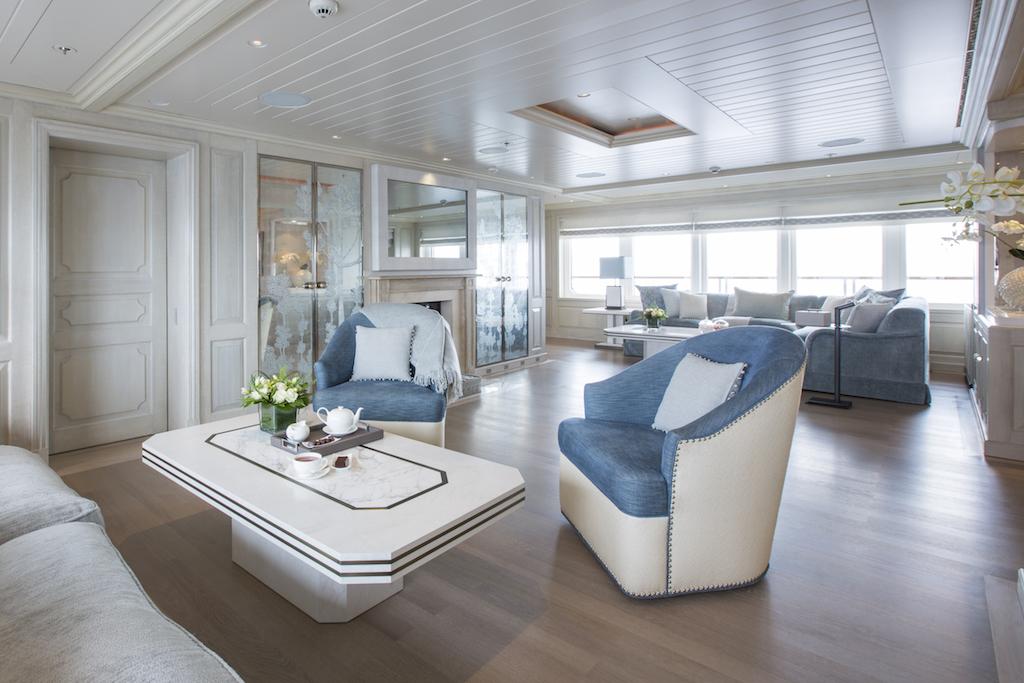 Yacht polar star a lurssen superyacht for Interni architettura