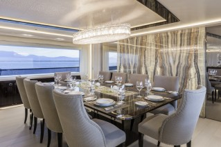 Polaris II Yacht - Dining