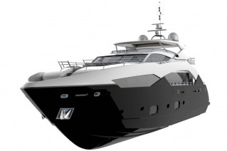 Predator 130 superyacht by Sunseeker