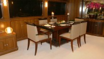 President 107 Yacht - Dining