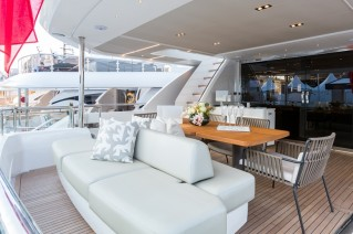 Princess 35M super yacht ANTHEYA II - Cockpit