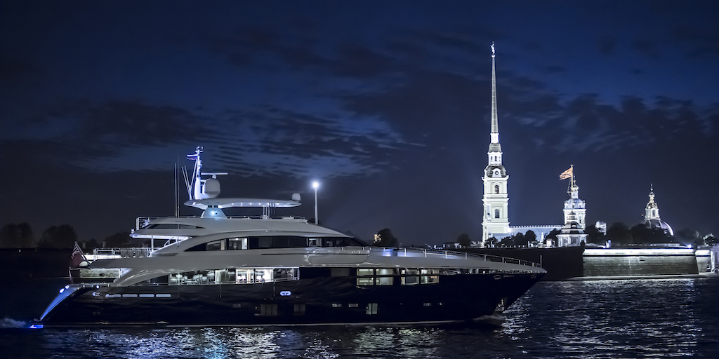 Princess 40M Luxury Yacht FLYING FISH