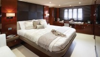 Princess 72 motoryacht master cabin - Image courtesy of Princess Yachts International