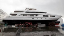 Project 10219 by Baglietto - side view - Photo by Baglietto Yachts