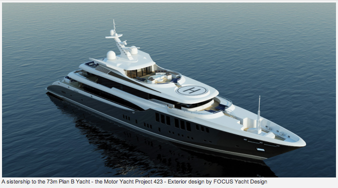 Motor Yacht Plan B (Project 422)