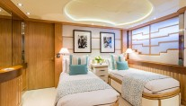 QM OF LONDON yacht - Guest suite