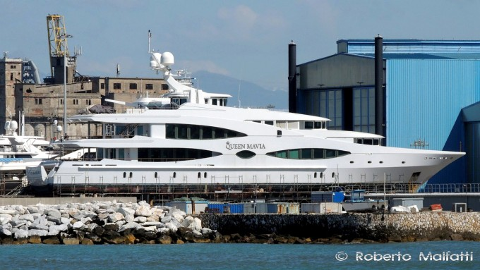 56m Superyacht QUEEN MAVIA (ex LADY CHRISTINE)