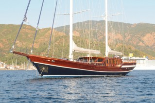 Queen of Datca - At Anchor