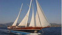 Sailing yacht�Queen of Datca
