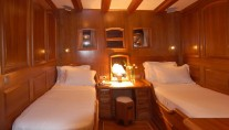 Queen of Karia Yacht - Twin Cabin