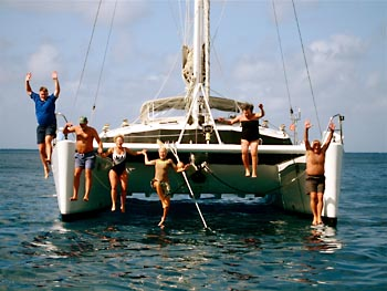Crewed Catamaran Quest