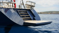 REINA yacht by Oyster - bathing platform