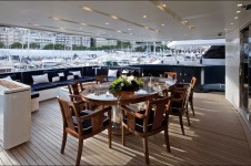 REVE D OR -  Aft Deck Al fresco Dining