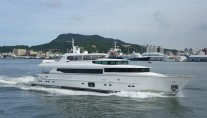 RP 110 Horzion luxury yacht LADY GAGA