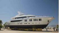 RUYA by Alia Yachts at launch