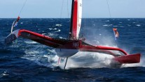 Racing Trimaran SOPRA - Sailing 5