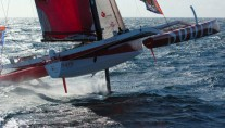 Racing Trimaran SOPRA - Sailing
