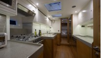 Reina yacht - galley