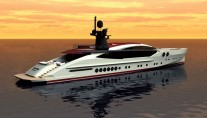 Rendering of Palmer Johnson superyacht PJ 170-2