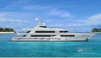 Rendering of Trinity superyacht T062