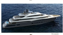 Rendering of new 68m CRN superyacht