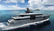Rendering of superyacht Admiral C Force 50