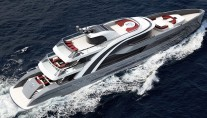Rendering of superyacht EUPHORIA