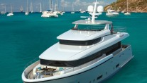 Rendering of the 30m superyacht Matica