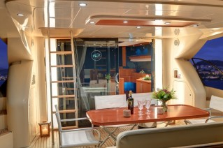 Riva 68 Yacht SPACE - Aft deck