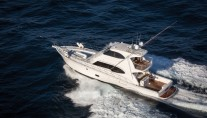 Rivieras flagship 75 Enclosed Flybridge yacht