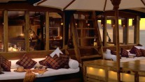Romantic evenings to be enjoyed while chartering yacht SILOLONA in Indonesia