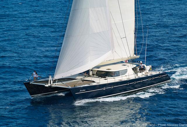 Rose of Jericho Luxury Catamaran yacht - Photo Nicolas Claris