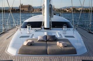 Royal Huisman S:Y Sea Eagle - Photo by Carlo Baroncini Photography  - detail
