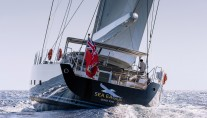 Royal Huisman S:Y Sea Eagle - Photo by Carlo Baroncini Photography - aft view