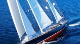 Luxury sailing yacht SCHEHERAZADE