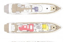 SHADOW - Sunseeker 105 Layout