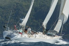 SHAITAN OF TORTOLA -  Aft View