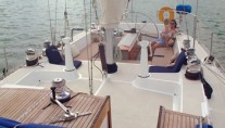 SHAITAN OF TORTOLA -  Deck looking aft