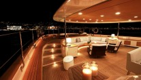 SILENCIO -  Aft Deck at Night