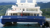 SILVER CLOUD - Aft View