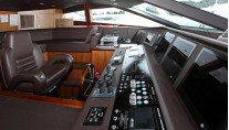 SIMPLE PLEASURE - Bridge deck credit Sunseeker Yachts
