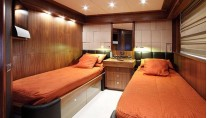SIMPLE PLEASURE - Twin cabin credit Sunseeker Yachts