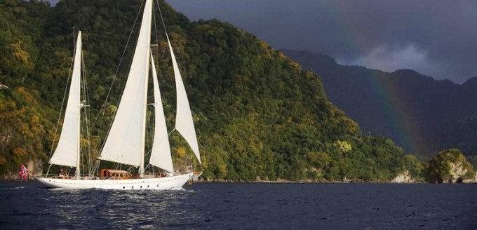 Classic sailing yacht SINCERITY