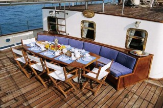SIR WINSTON CHURCHILL -  Al Fresco Dining on Deck