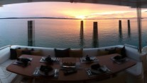 SOLO CONTIGO -  Sunset on Aft Deck